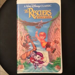 Other - Disney The Rescuers Down Under VHS Black Diamond
